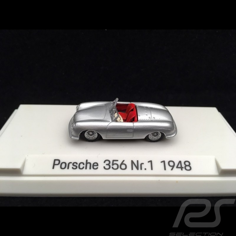 Porsche 356 N° 1 1948 silver grey metallic 1/87 Autocraft MAP02335618