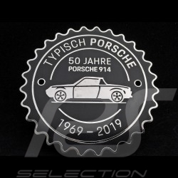 Badge de grille Porsche 914 50 ans 1969 - 2019 Noir Porsche Design MAP04515819 grill badge grillbadge black schwarz