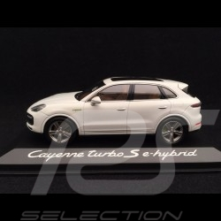 Porsche Cayenne Turbo S e-hybrid 2019 Carrara weiß 1/43 Minichamps WAP0203140K