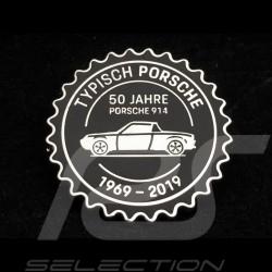 Pin Badge Button Porsche 914 50 ans years Jahre 1969 - 2019 Noir Porsche Design MAP01008319