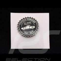 Porsche badge 914 50 years 1969 - 2019 Black Porsche Design MAP01008319
