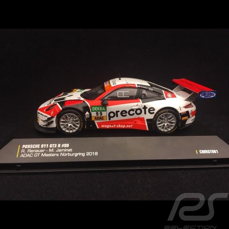 Porsche 911 type 991 GT3 R n° 99 ADAC GT Masters Nürburgring 2018 1/43 CMR CMRGT001