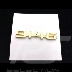 Porsche 914-6 vintage pin gold Porsche Design MAP01008119