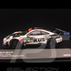 Porsche 911 typ 991 GT3 R n° 17 ADAC GT Masters Nürburgring 2018 1/43 CMR CMRGT007