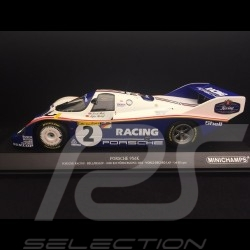 Porsche 956 K n° 2 Record du tour 1000km Nürburgring 1983 1/18 Minichamps 153836702 World record lap Rundenrekord