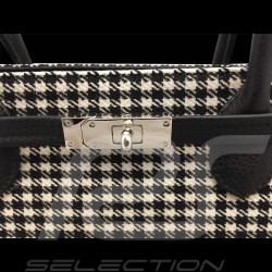 Porsche 911 Classic Handbag Pepita houndstooth / black leather