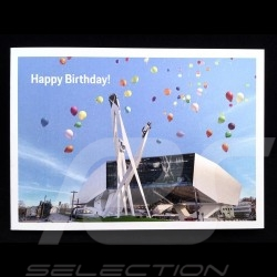 Birthday card Porsche Museum with enveloppe Porsche Design MAP01501019
