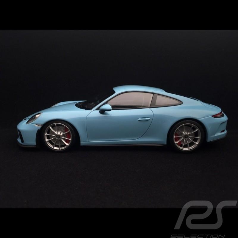 Porsche 911 type 991 GT3 Touring Phase II 2018  Gulf blue 1/18 Minichamps 110067420