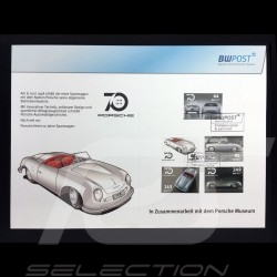 Porsche Gedenkbriefmarken 70 Jahre Evolution 1948 - 2018 Porsche Design MAP10780018