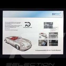 Timbres Porsche commémoratifs 70 ans évolution 1948 - 2018 Porsche Design MAP10780018