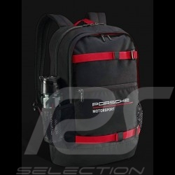 Sac à dos Porsche Motorsport 3 Collection noir / rouge Porsche WAP0350030LFMS Backpack rucksack
