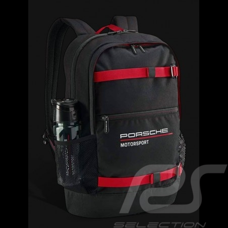 Sac à dos Porsche Motorsport 3 Collection noir / rouge Porsche WAP0350030LFMS Backpack rucksack