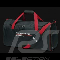Sac de sport Porsche Motorsport 3 Collection noir / rouge Porsche WAP0350020LFMS Sports bag Sporttasche