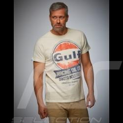 Men's T-shirt Gulf Oil Racing beige cream