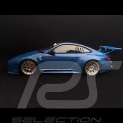 Porsche 911 Carrera S type 997 Old & New Kit flat nose flachbau 2016 bleu ocean 1/18 GT Spirit GT222 sea blue Meeresblau
