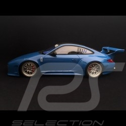 Porsche 911 Carrera S type 997 Old & New Kit flat nose 2016 sea blue 1/18 GT Spirit GT222