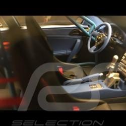 Porsche 911 Carrera S type 997 Old & New Kit flat nose 2016 sea blue 1/18 GT Spirit GT222