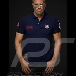 Gulf Racing Steve McQueen Le Mans n° 20 Polo Marineblau - Herren