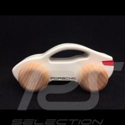 Porsche Taycan Holzauto weiß Porsche Design WAP0406000L