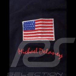 Polo Gulf Racing Steve McQueen Le Mans n° 20 bleu marine Navy blue marineblau homme men herren
