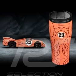 Mug Thermos Porsche isotherme laqué 917 Pink Pig Cochon rose n° 23 Porsche Design WAP0506250L917 isothermal Thermo-becher
