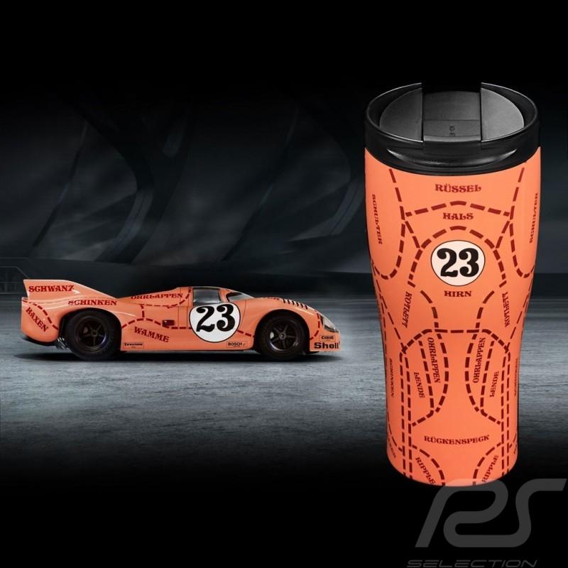 Thermo Mug Porsche isothermal 917 Pink Pig n° 23 high gloss finish Porsche Design WAP0506250L917