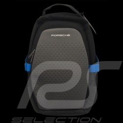 Porsche Backpack bag Taycan Collection USB 13 pockets black / blue WAP0356000LTYC