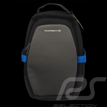 Sac à dos Porsche Taycan Collection Sport USB 13 poches noir / bleu WAP0356000LTYC backpack rucksack