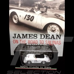 Duo Livre Book Buch James Dean - On the Road to Salinas / Porsche 356 Speedster n° 23 1/43 Brumm R117B