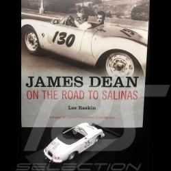 Duo Livre Book Buch James Dean - On the Road to Salinas / Porsche 356 Speedster n° 23 1/43 Brumm R117B