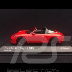 Porsche 911 Targa 4 GTS type 991 mark II 2016 guards red 1/43 Minichamps 410067340