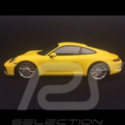 Porsche 911 type 991 GT3 Touring Phase II 2018 jaune yellow gelb 1/18 Minichamps 110067422