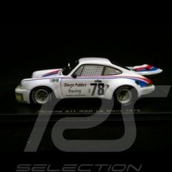 Porsche 911 RSR 3.0 Le Mans 1976 n° 78 Diego Febles Racing 1/43 Spark S4159