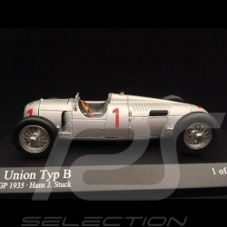 Auto Union Typ B n° 1 German GP 1935 1/43 Minichamps 410351900