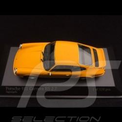 Porsche 911 Carrera RS 2.7 1972 jaune 1/43 Minichamps 400065522