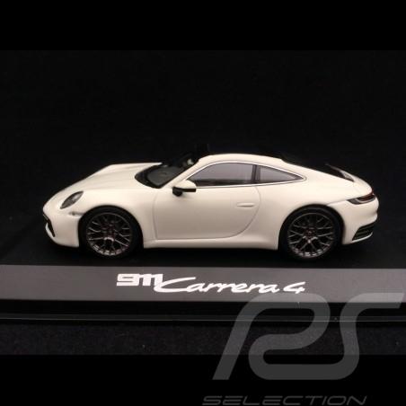 Porsche 911 type 992 Carrera 4 Coupé 2019 blanc carrara 1/43 Minichamps WAP0201760K