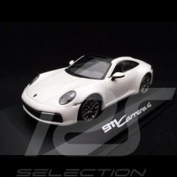 Porsche 911 type 992 Carrera 4 Coupé 2019 carrara white 1/43 Minichamps WAP0201760K