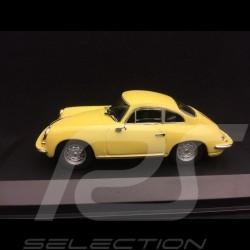 Porsche 356 C Carrera 2 1963 jaune Condor 1/43 Minichamps 940062361