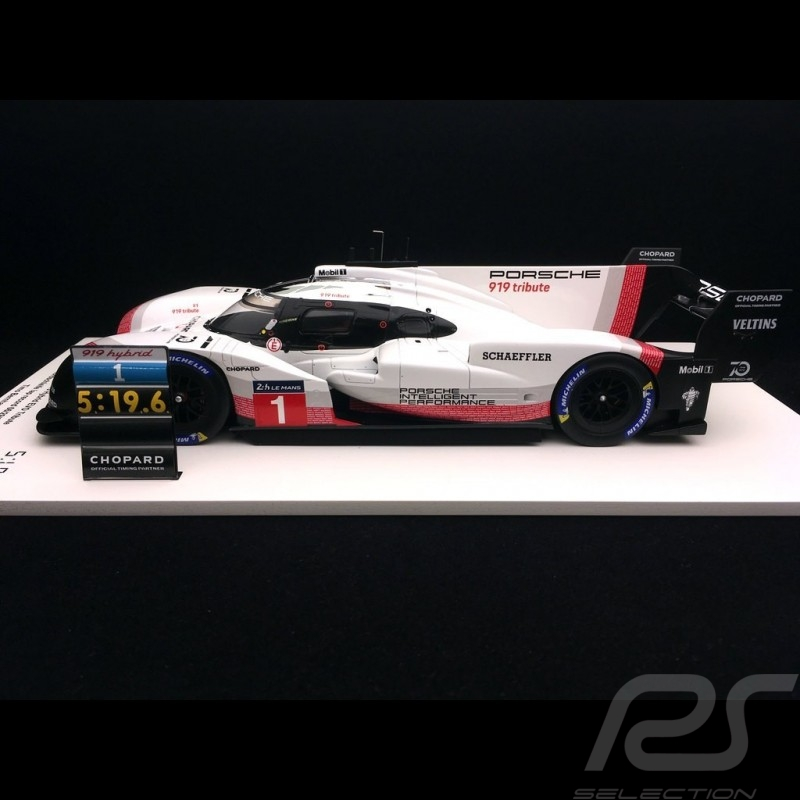 Porsche 919 Hybrid Evo n° 1 Tribute Tour Nürburgring 2018 Rekord Timo Bernhard 1/18 Spark 18S045
