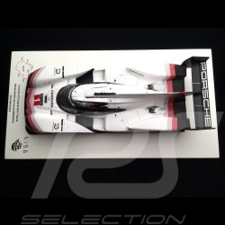 Porsche 919 Hybrid Evo n° 1 Tribute Tour Nürburgring 2018 Record Timo Bernhard 1/18 Spark 18S045