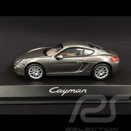 Porsche Cayman 981 2013 grey 1/43 Norev WAP0200300D