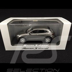 Porsche Macan S Diesel 2013 gris 1/43 Minichamps WAP0201510E