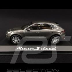 Porsche Macan S Diesel 2013 grey 1/43 Minichamps WAP0201510E