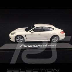 Porsche Panamera Diesel 2012 blanche 1/43 Minichamps WAP0200090C