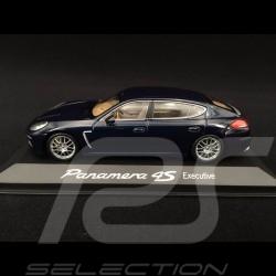 Porsche Panamera 4S Executive 2014 bleu blue blau 1/43 Minichamps WAP0204500E