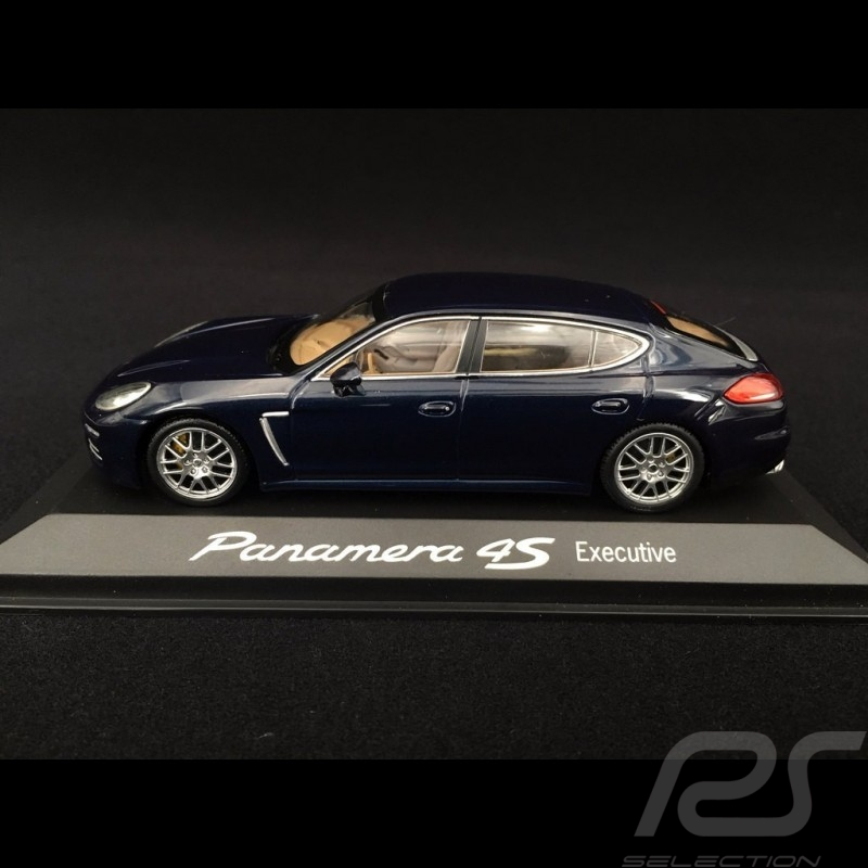 Porsche Panamera 4S Executive 2014 blau 1/43 Minichamps WAP0204500E