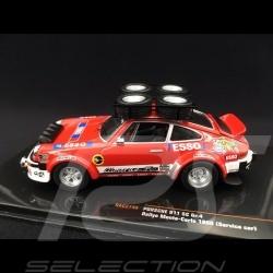 Porsche 911 SC Gr. 4 Rallye Monte Carlo 1980 Assistance Almeras 1/43 Ixo RAC274X Service car Servicewagen