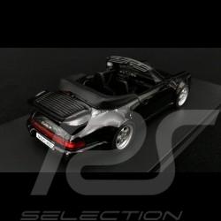 Porsche 911 type 964 Turbo Cabriolet 1993 Black 1/43 Autocult 60031