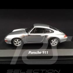 Porsche 911 type 993 1993 silver 1/43 Minichamps 940063001