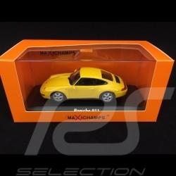 Porsche 911 type 993 1993 jaune 1/43 Minichamps 940063000